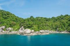 Asian tropical beach paradise at Nang Yuan Island, Thailand Royalty Free Stock Image