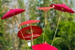 Asian umbrella Royalty Free Stock Photo