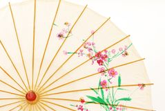 Asian umbrella Royalty Free Stock Images