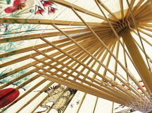 Asian umbrella closeup Royalty Free Stock Images