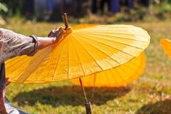 Asian umbrella Stock Image