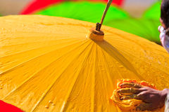Asian umbrella Royalty Free Stock Photos