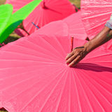 Asian umbrella Royalty Free Stock Image