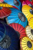 Asian Umbrellas Royalty Free Stock Images