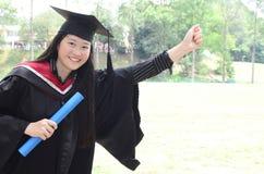 Asian university graduate Stock Images