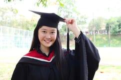 Asian university graduate Stock Photography