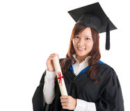 Asian university student Royalty Free Stock Photo