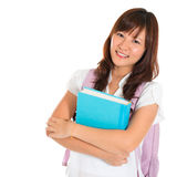 Asian university student Royalty Free Stock Photos