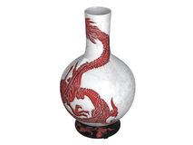 Asian_vase Royalty Free Stock Image