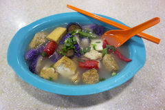 Asian Vegetable Soup Royalty Free Stock Photography