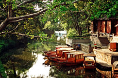 Asian Venetia (Shuzhou, China) Royalty Free Stock Photos
