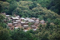 Asian Village Royalty Free Stock Photos