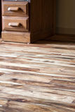 Asian walnut floors stock photos