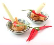 Asian wan tan soup Royalty Free Stock Photography