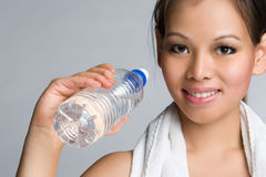 Asian Water Girl Royalty Free Stock Image