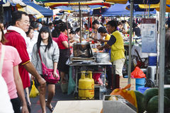 Asian Wet Market Royalty Free Stock Photos
