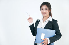 Asian white-collar woman Royalty Free Stock Image