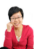 Asian white-collar woman Royalty Free Stock Images