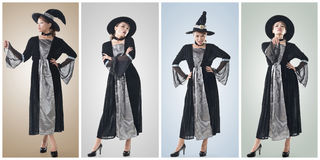 Asian witch Royalty Free Stock Images