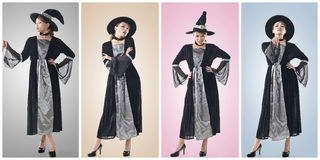 Asian witch Royalty Free Stock Photos