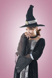Asian witch woman Stock Photography