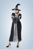 Asian witch woman Royalty Free Stock Images