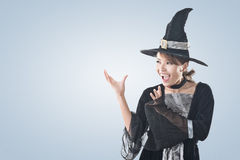Asian witch woman Royalty Free Stock Photography
