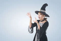 Asian witch woman Stock Photos