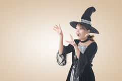Asian witch woman Stock Image