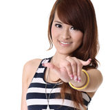 Asian woman royalty free stock photography
