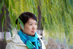 asian woman Stock Image