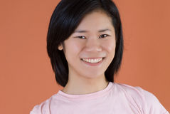 Asian woman. A young japanese woman with a smile Royalty Free Stock Photo