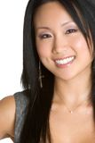 Asian Woman. Beautiful smiling asian woman portrait Stock Photography