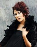 Asian Woman. Beautiful Asian Woman portrait Posing glamourous stylish Stock Images