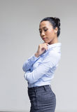 Asian woman action in business look Stock Image