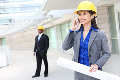 Asian Woman Architect Stock Images