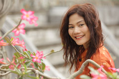 Asian woman beauty Royalty Free Stock Photos
