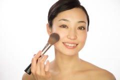 Asian woman beauty cosmetics Royalty Free Stock Photos