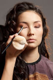 Asian woman in a beauty salon. Stock Photo