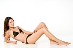 Asian Woman In Bikini Stock Image