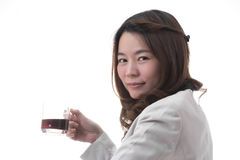 Asian woman business Royalty Free Stock Image