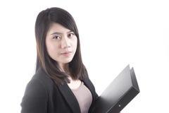 Asian woman business Royalty Free Stock Photos