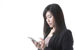 Asian woman business Stock Images
