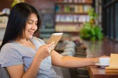 Enjoy Reading Tablet Stock Photos