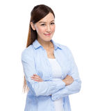 Asian Woman with casual wear Stock Images