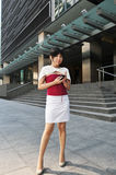 Asian Woman In The City Stock Photography