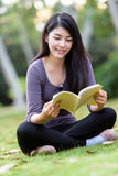 Asian woman college student Royalty Free Stock Image