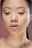 Asian woman cosmetics Stock Photography