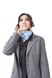 Asian woman customer service worker Stock Photography