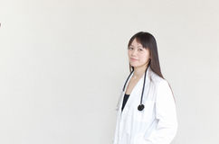 Asian woman doctor Royalty Free Stock Images